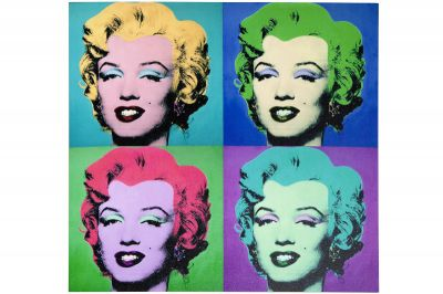 Obraz szklany Pop Art Marilyn Monroe